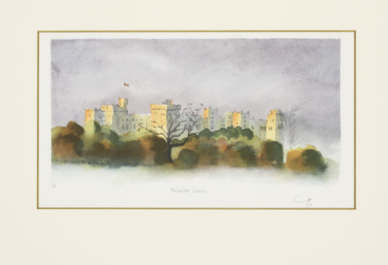 HRH The Prince of Wales' Signed Lithographs at New Millennium Gallery, Beijing