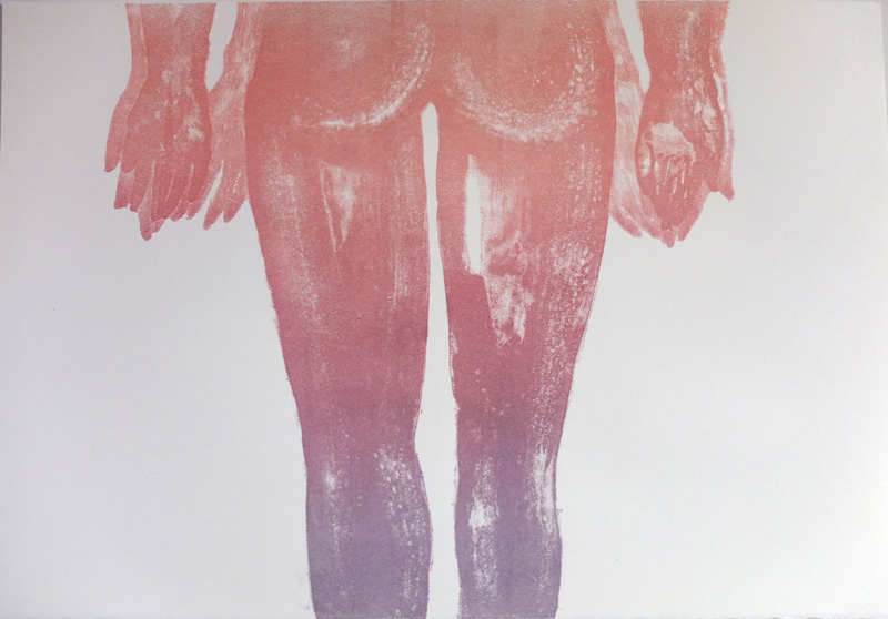 Untitled,-Lithograph,38cmx-56cm,edition-7w