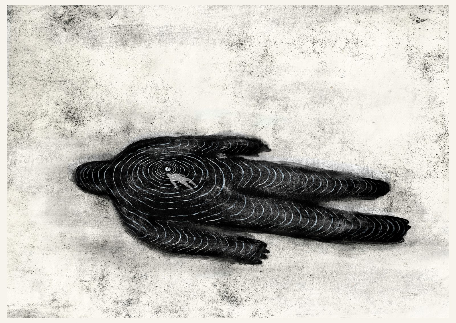 Hammer Chen,Floating ,Etching and drawing