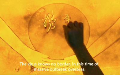 Joined hands to fight the virus – A video created by nine artists